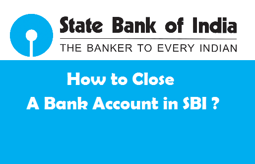 close sbi bank account