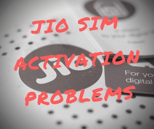 Jio-Sim-Activation-problems