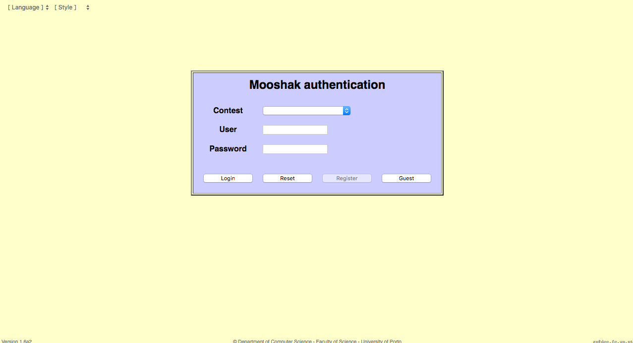 Mooshak online judge