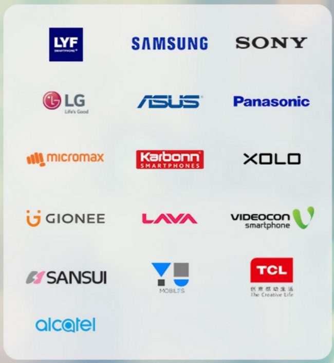 Jio 4G compatible phones