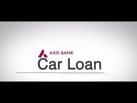 axis bank car loan