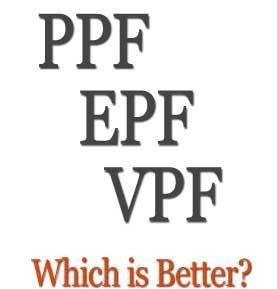 EPF vs VPF vs PPF vs NPS