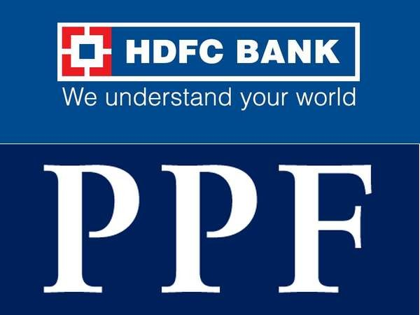 Open a PPF account in HDFC Bank